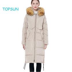 Удобная куртка Wintbreak женщин зимой кулиской вниз нанесите на съемные фо меховой одежды