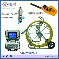 La haute définition moniteur TFT 8 pouces Endoscope Pipe Inspection conduite de vidange de l'appareil photo appareil photo de nettoyage