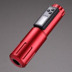 新しい到着の再充電可能な無線入れ墨のペン機械は電池によってセットした