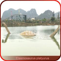 Parque acuático de diversiones escultura dinosaurios dinosaurios animatrónico