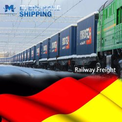 De professionele Vracht die van de Spoorweg van China aan Duitsland/Berlijn/Breme/Hamburg/Frankfurt verschepen