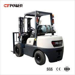 3-roues/4-roues/de la batterie de l'Essence GPL Diesel électrique de relevage de chariot élévateur à fourche de la palette de CT avec le Japon de puissance moteur et Ce/certificat ISO