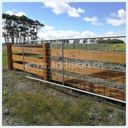 Wholesale portátil permanente Finca Rural la esgrima el ganado ovino puertas correderas de caballo N me quedo la ganadería Explotación