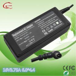 Sony AC адаптер питания постоянного тока питания зарядного устройства батареи 16V 3,75 A 60W
