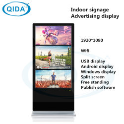 デジタル表記LEDの広告を立てる42インチの床