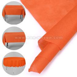 Одноразовые Спанбонд Spunbond скатерть 6# оранжевого цвета