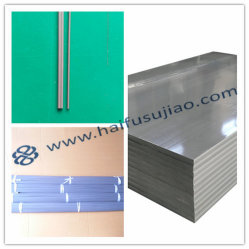 灰色白の単一か二重PVC溶接棒