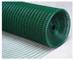 Faible prix galvanisé recouvert de PVC de couleur verte Diamond Fer à souder de Wire Mesh
