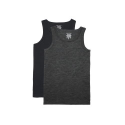 Parte superiore di serbatoio merino della maglietta giro collo delle lane Nz degli uomini naturali di alta qualità 100% dal fornitore della Cina