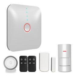 DIY Wi-Fi de Segurança do Sistema de Alarme de Intrusão Doméstico GSM com ios/Android, empurre o SMS de alarme através de Wi-Fi Yl-007WS1n