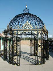 정원 전망대 육각형은 철 큰 천막을 위조했다