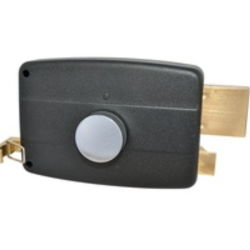 Segurança de alta qualidade trava do botão da porta cilíndrico de ferro