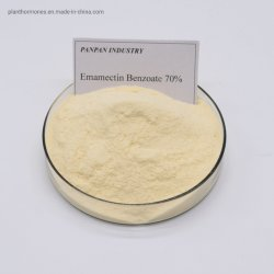 Haut de la qualité de l'Insecticide 70%Tc l'emamectin benzoate destructeurs d'insectes pour la tomate