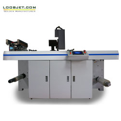 Stampante di getto di inchiostro variabile di dati della pressa di derivazione del contrassegno