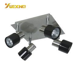 100% livre de mercúrio GU10 Lâmpada de halogéneo LED quadrado dos Faroletes Ceil Tecto Local Perfil lustre a Lâmpada para Hotel