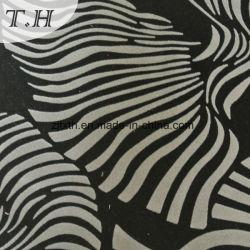 Noir sur le tissu de velours troupeau troupeau