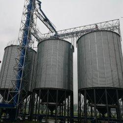Bajo costo de 300 toneladas de la parte inferior de la tolva de 100 toneladas de silo de almacenamiento de materias primas para la venta