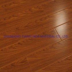HDF /MDF laminado Fábrica de Pisos de madera de la superficie brillante fabricante de China