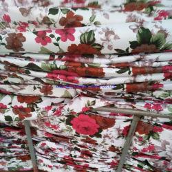 Impresos en 3D 80gramos Bedsheet tela con diseños de flores románticas para EMIRATOS ÁRABES UNIDOS