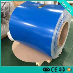 الألومنيوم المطلى مسبقًا بلون Ral 3003 3004 3005 3105، PE/PVDF Coated 3003 3004 3005 الملف