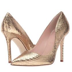 Zapato de tacón alto italiano de moda coincidentes bolsos y calzado