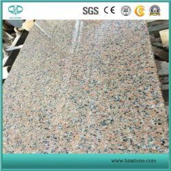 Xili roter Granit/rosafarbener Granit/Bodenbelag-Fliese/Countertops/Eitelkeits-Oberseite/Kopfsteine/Bordstein-Stein/Platten/, die Fliesen pflastern