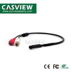Mini Hoge Gevoeligheid Verborgen AudioBestelwagen, de Waaier van de Audio Controle: 5-60m² , 100~5kHz, 2.5dB, met RCA+DC Connector, Better Quality