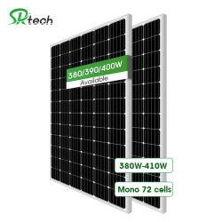 Silicon Monocrystalline 390W 400W панель солнечных фотоэлектрических модулей для энергетической системы