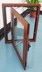 نافذة زجاجية مفتوحة من الألومنيوم المقاوم للصوت