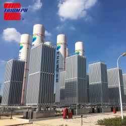 ASME/GBの標準の液体酸素の周囲の空気の蒸発器
