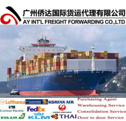 Fret maritime/Expédition/Consolidation de la mer de Chine à l'Arizona, USA