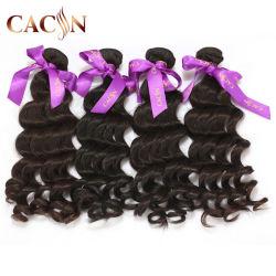 Commerce de gros de qualité supérieure à 100 % Indian Sèche cheveux humains Premium Virgin Remy vrac