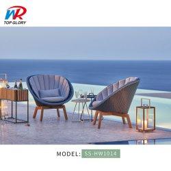 Горячая продажа современном ресторане мебель сад патио для использования вне помещений для отдыха на пляже заместитель председателя ротанга на заводе