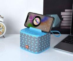 Basamento Handsfree ricaricabile senza fili portatile del supporto del supporto del telefono del sistema stereo dell'altoparlante di Bluetooth della parentesi per Smartphones