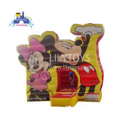 Jouets gonflables commercial de la couleur jaune Cartoon Bouncer Hot Sale costume pour les enfants