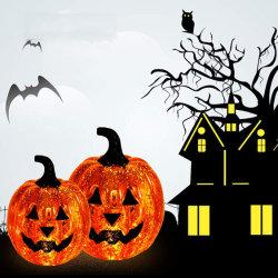 Halloween Party Décoration lanterne citrouille à LED