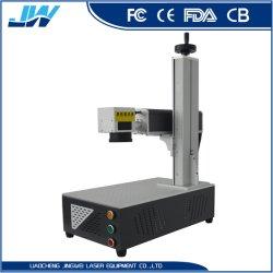 금속 플라스틱 컵 Phonecase /Bearing/PVC를 위한 20W 30W 50W 섬유 Laser 표하기 기계