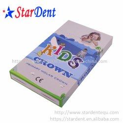L'orthodontie bandes en acier inoxydable dentaires dents couronne pour l'Hôpital pour enfants de laboratoire médical de l'équipement de diagnostic chirurgical dentiste