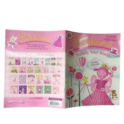 Многоразовый Die Cut детский наклейку книги печать книги наклейки печать