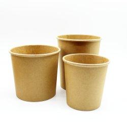 La coutume de la soupe, yogourt, Fast Food Take-Away Food Pack Craft bol de nouilles de riz de papier