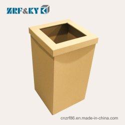 Custom Eco-Friendly papelão descartáveis/resíduos de papelão bandejas de papel/latas de lixo lixo podem