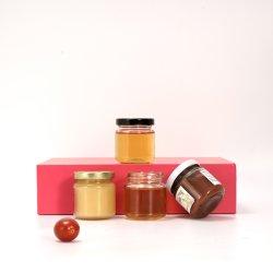 Герметичный стеклянный кувшин блендера с крышкой/контейнеры для хранения продовольствия может выступ 53 стеклянной посуды