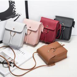 Женщина мини-Сумка почтальона моды дамы малые партии Crossbody обычных телефонных медали взять на себя сумки дамской сумочке