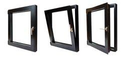 Europäisches Befestigungsteil-Doppelt-Scheiben-Dreiergruppen-Scheiben-Aluminium Windows