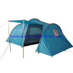 Double couche de style européen tente de camping, tente de plein air, tente familiale