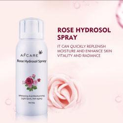 Eigenmarken-Rosen-Nebel-Pore-Befeuchten und Anti-Knicke Rosen-Wasser-Gesichts-Toner-Spray Skincare, das Gesichts-Toner fest macht