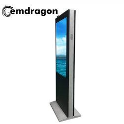 Ad Display Wireless Ad Monitor 55 Inch Wind-Gekoeld Verticaal Scherm Landing Outdoor Advertising Machine Shopping Mall Lcd