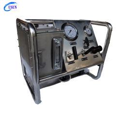 البيع الساخن يو إس إن الطراز: الولايات المتحدة الأمريكية / 2 محطة مضخة سائل تعمل بالهواء المضغوط مماثلة لاختبار Burst