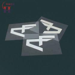 Дешевле утюг на 3D-поднять резиновый Дизайн логотипа передача тепла стикеров на футболки