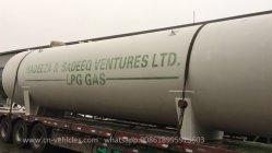 Dn2700mm 60000litres GPL Cook cuve sous pression du réservoir de stockage de gaz pour le transport de gaz Cook